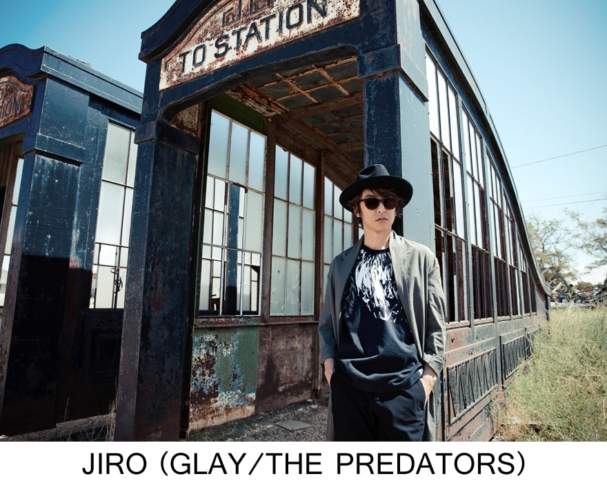 JIRO(GLAY / THE PREDATORS)